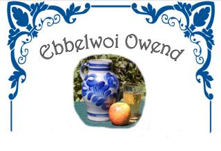 Ebbelwoi-Owend im Sportheim